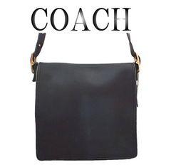 COACH コーチ レザー ショルダーバッグ