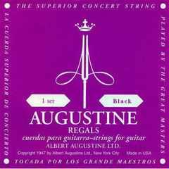AUGUSTINE クラシックギター弦 セットAU40-BLK