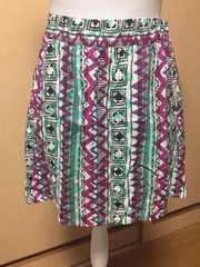 ハワイのForever21で購入☆民族柄スカート
