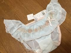 青☆新品&即決.Risa Magli.可愛いフリフリショーツ//2,415円