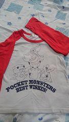 ポケットモンスター長袖Tシャツ120