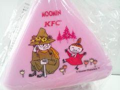 ムーミンおにぎりケース新品リトルミー&スナフキンKFCケンタッキーフライドチキン