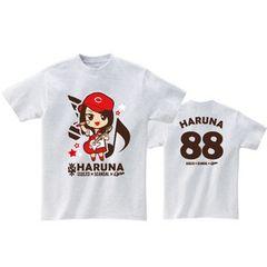 即決 HARUNA Tシャツ[L] SOUND MARINA 2013× SCANDAL ×CARP