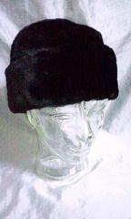 ロシア帽 フェイクファーハット 未使用品 フランス製 メーテル 耳当て