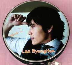イ・ビョンホン♪アルミCD/DVD収納ケース韓国製456/イビョンホン グッズ