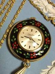 Chandler チャンドラー  ペンダントトップ時計  手巻 スイス製 アンティーク  稼働品
