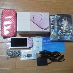 美品PSP3000/完品/おまけ多数激安即決