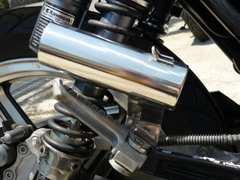 汎用 42.7π サイレンサースタンド マフラー XJR ゼファー ZRX バリオス