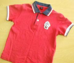 ユニクロ【130】ポロシャツ/赤