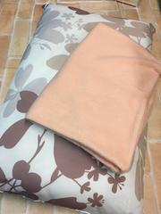 新品☆防ダニ抗菌防臭枕まくら♪暖かカバー付き!r702