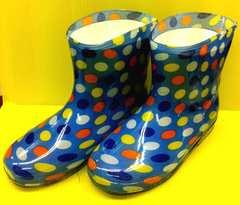 $●△ カラフルドット◆長靴◆◆16cm