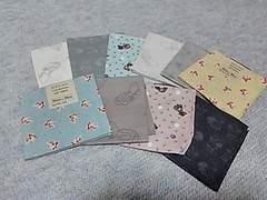 牧野まゆみコレクションカットクロス  (スーちゃん)綿100% 50�p×36�p 10枚セット