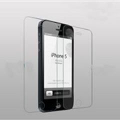 送無料iphone5/5S 液晶保護強化ガラスシート9H2.5D