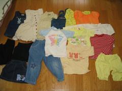 女児100Tシャツワンピースパンツ他まとめ売り福袋