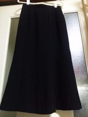 超美品♪黒ロングスカート《大きいサイズ》