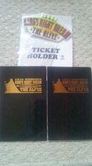 アルフィー THE ALFEE 1994年夏のイベント  2DAYS チケット&チケットホルダー