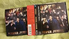 SUPER JUNIOR「OPERA」DVD+ステッカー+帯付