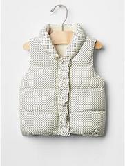 GAP ギャップ vest ダウンベスト 80サイズ 美品