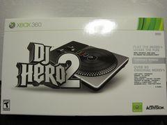 Xbox360☆DJ HERO 2 Bundle(ターンテーブル同梱版)☆美品