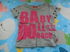♪USED BABYDOLL Tシャツ 80�p♪