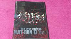 KAT-TUN TOUR 2007 cartoon KAT-TUN �UYou DVD�A���g