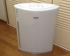 洗えるiフィルターナショナルエアーリッチ 空気清浄機