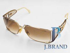 ��USED �J�U�[�� CAZAL �T���O���X sunglasses �u���E��