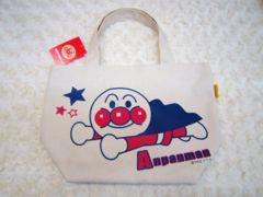 【送料無料】アンパンマン(帆布ミニトート)ランチバッグ/手提げ