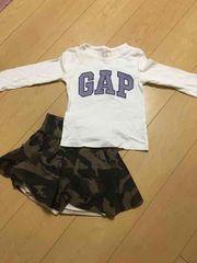 GAP ギャップ シンプルロゴ ロンT