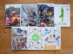 Nintendo Wii ゲームソフト 7本セット まとめ売り