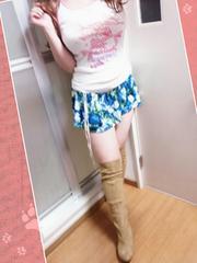 リボン柄のロリ可愛ホワイトタンク(*/ω\*)