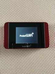 Pocket WiFi Softbank 304HW red 中古美品 SIM無し 激安☆