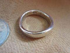Silver925  Ring     純銀指輪 6g  #17  n160