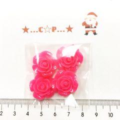 7*�@スタ*オリジナル貼付パーツ*ツヤ薔薇*濃いピンク*59