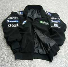 ◆送料無料◆《BMW》★ジャケット【中綿入】★BLACK*XL