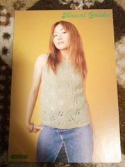 矢井田瞳 2001年 CDでーた 付録 ポストカード 1枚 ヤイコ