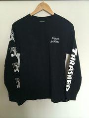 スラッシャー L/S Tシャツ ブラック Sサイズ