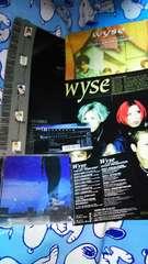 wyse◆Distance◆直筆サイン色紙◆コメントペ-パ-◆チラシ◆写真◆