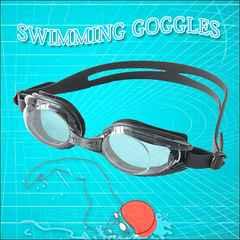 送料無料!100%UVカット!水泳&フィットネスに!ゴーグル2個