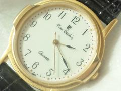2561復活祭★ピエールカルダン☆新品未使用品クラシカルメンズ腕時計格安!