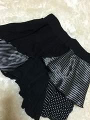 CALM(´・ω・`)黒ふりふり★スカート