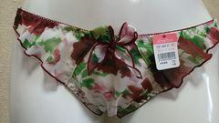 ☆エメフィール☆フルバック☆M新品タグ付き☆ホワイト×レッド薔薇柄☆定700円