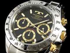 【TECHNOS】テクノス メンズ腕時計 TSM401LB