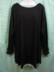 ◆新品◆大きいサイズ◆ホルターネックTシャツ ブラック◆6Lサイズ◆