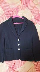 クイーンズコートのジャケット ネイビー