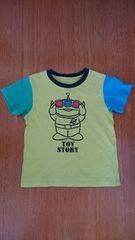 ユニクロ 110サイズ リトルグリーンメン Tシャツ 中古品
