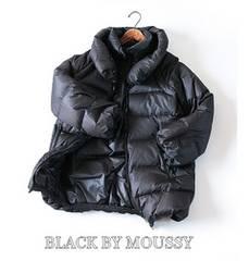 BLACK BY MOUSSY*マウジー*丈長めダウンコート・М♪¥40000