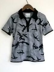 迷彩デザインポロシャツS(新品)※2点送料無料