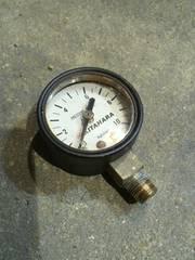 エアタンク用 圧力計キタハラ製ヤンキーホーン、エアサスタンクに中古 即決