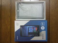 geanee製Windows10 SIMフリータブ「WDP-083-2G32G-BT-LTE」新品!